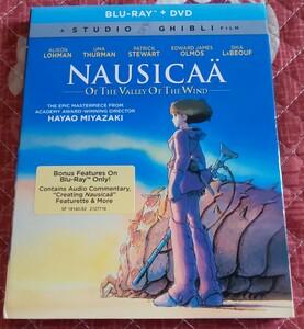 BD「風の谷のナウシカ」北米版Blu-ray(新品開封品)
