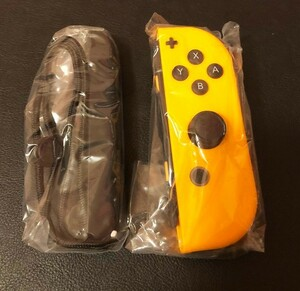 Nintendo Switch Joy-Con (R) ネオンオレンジ ストラップ付 ジョイコン