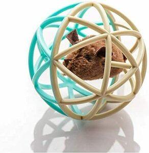 #A3 猫 おもちゃ ボール 噛むおもちゃ ネズミ 運動不足やストレス解消 猫遊び用 音が鳴るボール