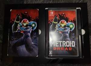 メトロイドドレッド Nintendo Switch スイッチ スチールブックケース付き
