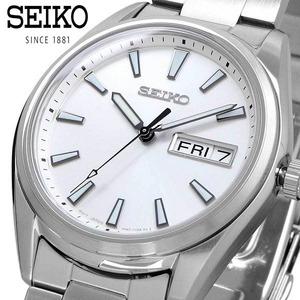 【即決】【高級セームプレゼント】【新品正規品】【日本未発売最新作】セイコーSEIKO100M防水女性用サファイアガラス腕時計
