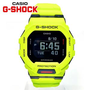 【即決 高級セーム付き】【新品正規】CASIO カシオ G-SHOCK Gショック腕時計Bluetoothメンズランニングスマホリンク【最新ライムグリーン】