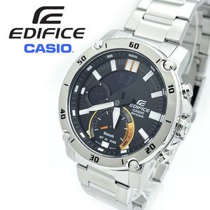 【送料無料 高級セーム付】新品正規CASIOカシオEDIFICEエディフィスメンズ男性腕時計Bluetoothスマホリンクアナデジ100m防水ステンレス