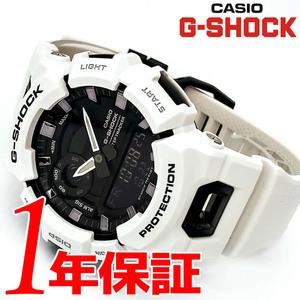 【イチオシ】【人気デザイン】CASIOカシオG-SHOCKジーショックメンズ腕時計アナデジウォッチブラックホワイトBluetoothモバイルリンク