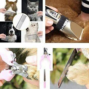 限定価格!普通1 ペット用品 ペット バリカン 犬 猫 バリカン 低騒音 低振動 高精度 切れ味抜-群 充電式コードレス 2GOB
