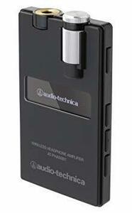 新品ブラック audio-technica ワイヤレスヘッドホンアンプ ブラック AT-PHA50BT BKW3GS