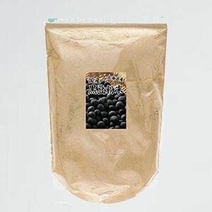 新品 目玉 黒豆粉末 自然健康社 B-6I パウダ- チャック付き袋入り 1kg きな粉 きなこ 国産 無添加 業務用 黒大豆