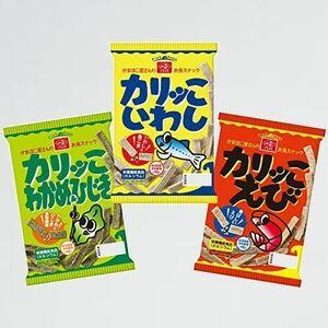 新品 目玉 カリッこ いちまさ 5-3H 12袋(いわし・えび・わかめ&ひじき各4袋) 栄養機能食品(カルシウム) 3種 スナック