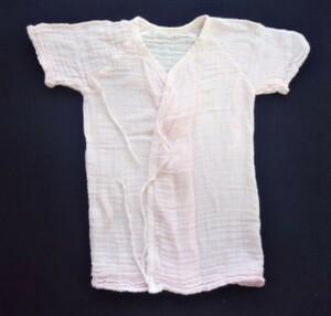 ■新生児■ガーゼ肌着 ピンク  サイズ50-60■