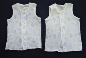 ■ノースリーブのシャツ 2枚 ブルー■サイズ70■