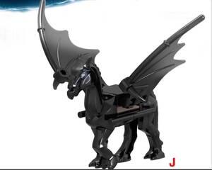 1体 馬 ミニフィグ LEGO 互換 ミニフィギュア レゴ互換