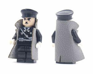 1体 第二次世界大戦 ドイツ軍 士官 ミニフィグ LEGO 互換 ブロック ミニフィギュア レゴ 互換 s