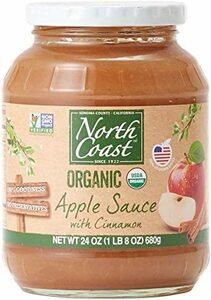 680g(小ぶりなリンゴ6個分) オーガニック アップルソース シナモン (有機 化学調味料無添加 砂糖不使用 100%天然 ノ