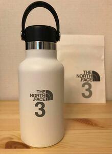 新品★ハイドロフラスク THE NORTH FACE 3 別注★ホワイト マーチ スタンダードマウス Hydro Flask 水筒
