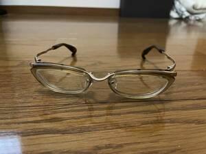 999.9 フォーナインズ M-10 眼鏡 箱付き