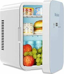 ミニ冷温庫 Msake 10L ポータブル 小型冷蔵庫 保温・保冷用 0℃~60℃ 温度調節可 ワンタッチ操作 LCDディスプレ