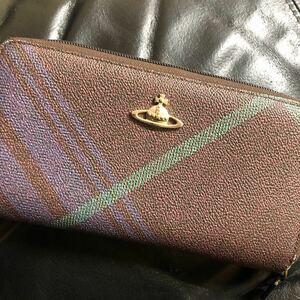 Vivienne Westwood ヴィヴィアンウエストウッド 長財布 財布 チェック