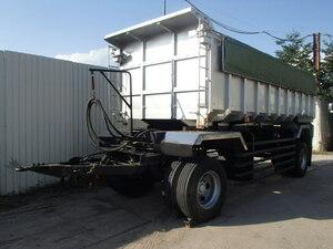 トレクス 平成17年 FFB12401 土砂禁 ダンプ フル トレーラー 新明和 TFD100-1 荷台内張 ステンレス