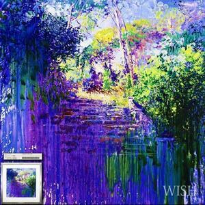 【真作】【WISH】トレンツ・リャド J.Torrents Llado「カネットの階段」シルクスクリーン 約20号 大作 直筆サイン 証明シール   #21092043