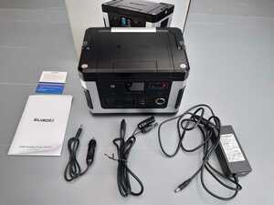 SUAOKI Portable Power Supply G500 500WH Household Recommended Path PSE Verified LCD Large Screen Display Car Male Camp