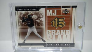 【Michael Jordan】 2001 Upper Deck PROSPECT PREMIERS MJ Grand Slam Game Bat ジョーダン バット