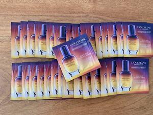 送料無料(*´∀`) ロクシタン オーバーナイトリセットセラム サンプル 30個 L''OCCITANE 美容液