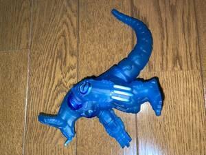 サイバーゴモラ ユナイトブルー ウルトラ怪獣シリーズ ソフビ ウルトラ怪獣500