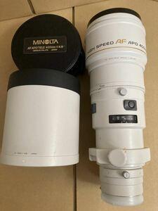 MINOLTA HIGH SPEED AF APO TELE 400mm F4.5(32) ミノルタ 一眼レフ カメラレンズ