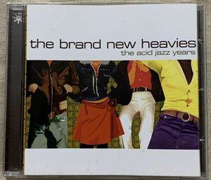 CD Brand New Heavies The Acid Jazz Years EU盤 ブラン・ニュー・ヘヴィーズ アシッド・ジャズ Never Stop METRCD051