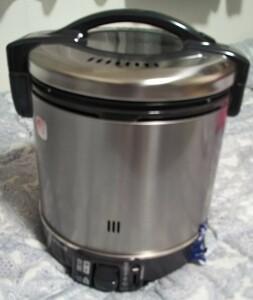 【リンナイ】 こがまる ガス炊飯器 11合炊・都市ガス RR-100GS-C 箱無し未使用品 リンナイ