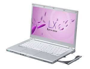 良品!Panasonic 14型ノートPC CF-LX4 Corei5-5200U・8GB・爆速SSD128GB・DVDマルチ・カメラ・Bluetooth・OFFICE2019・Win10・WIFI 1061