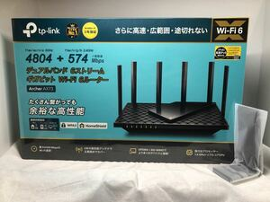 TP-Link Wi-FiルーターArcher AX73 新品未使用 おまけ付き