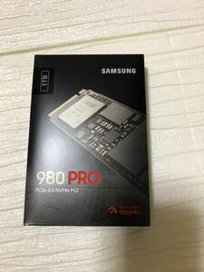 【新品】PS5対応 Samsung M.2 SSD 980PRO 1.0TB