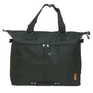 【新品・ブラック】レディース ◆BIG TOTE BAG◆ 大容量トートバッグ A3ファイル ノートPC ビジネス エコバッグ