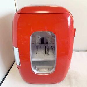 ポータブル保冷温庫 XHC-16H レッド 保冷庫 保温庫 2電源式 動作確認済み