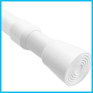 ホワイト直径23mm(取付寸法125~240cm) ★色:ホワイト_サイズ:130-250cm★ 130-250cm強力 つっぱり棒つっぱり棚 伸縮突っ張り式 突っ張り棒