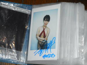 [100 jpy start ] with autograph Cheki : morning ratio .. not yet ①