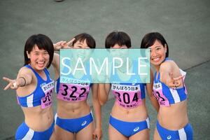 R102 生写真 レーシングブルマ 女子 陸上 L判 L版 女子アスリート 高画質 グラビア スポーツ
