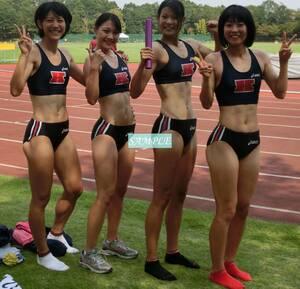 R1 生写真 レーシングブルマ 女子 陸上 L判 L版 女子アスリート 高画質 グラビア スポーツ