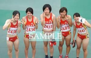 R211 生写真 レーシングブルマ 女子 陸上 L判 L版 女子アスリート 高画質 グラビア スポーツ