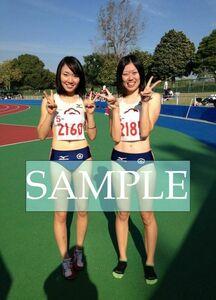 R204 生写真 レーシングブルマ 女子 陸上 L判 L版 女子アスリート 高画質 グラビア スポーツ