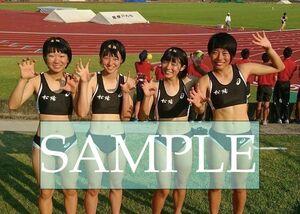 R200 生写真 レーシングブルマ 女子 陸上 L判 L版 女子アスリート 高画質 グラビア スポーツ