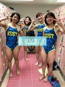 S1 生写真 水泳 水着 スク水 競泳水着 女子 L判 L版 女子アスリート 高画質 グラビア スポーツ