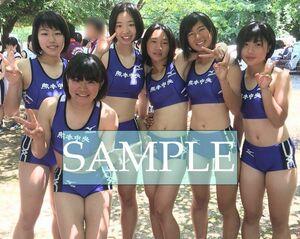R176 生写真 レーシングブルマ 女子 陸上 L判 L版 女子アスリート 高画質 グラビア スポーツ
