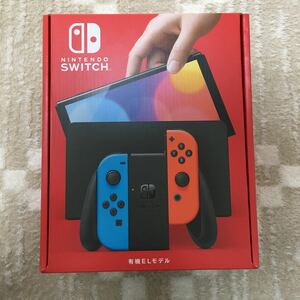 Nintendo Switch 新型 有機EL本体 ネオンカラー 新品 未使用 未開封 ニンテンドースイッチ Switch本体