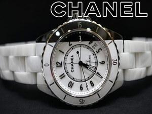 未使用 シャネル J12 パラドックス H6515 オート 腕時計