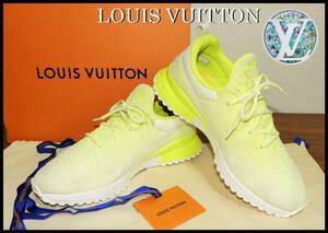 即完売 LOUIS VUITTON V.N.Rライン スニーカー ルイヴィトン LV イエロー ランニング ニット モノグラム ブーツ 靴 8 メンズ ダミエ