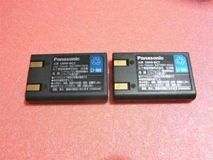 Panasonic パナソニック 【純正品】 バッテリー DMW-BC7  動作品