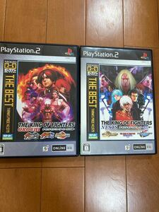 PS2 ザ・キング・オブ・ファイターズ ネスツ編 オロチ編 二本まとめ売り