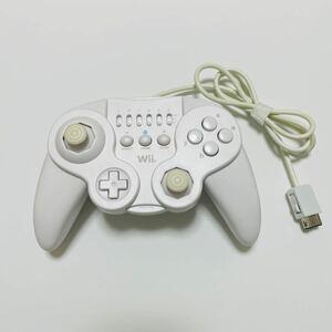 Wii HORI クラシックコントローラー ホワイト